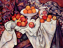 Apples and Oranges, by Paul Cézanne