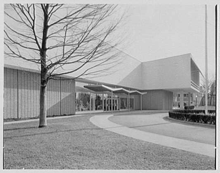 The Bloomingdale's store in Stamford, Connecticut in January 1955