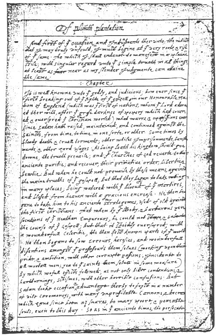 A page from the Bradford Journal