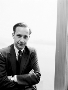 Brian Urquhart of the Office of the UN Under-Secretaries Without Porfolios. (1 January 1956)