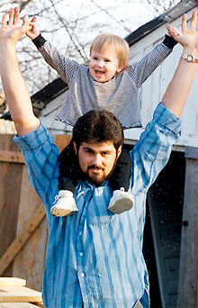The late Cameron Todd Willingham, wrongfully executed in Texas in 2004 for the murder of his daughters