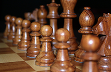 The game of chess, a strategic metaphor