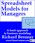 Spreadsheet Models for Managers