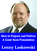 How to Prepare and Deliver a Great Team Presentation