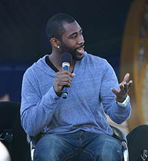 Darrelle Revis, cornerback in the U.S. National Football League
