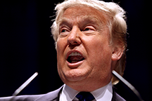 Donald Trump, a candidate for the nomination of the Republican Party for President in 2016