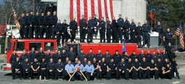 The 171st graduating class of the Massachusetts Firefighting Academy