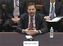 Director of the Federal Bureau of Investigation, James Comey