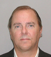 Jeffrey Skilling, in a mug shot taken in 2004 by the United States Marshals Service