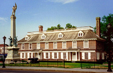 Philipse Manor Hall State Historic Site in Yonkers, New York