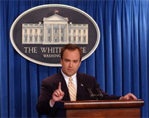 Scott McLellan, White House Press Secretary, 2003-2006