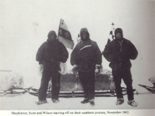 Shackleton, Scott and Wilson, of the British Antarctic Expedition 1902