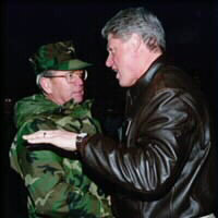 Pres. Clinton and Adm. Smith