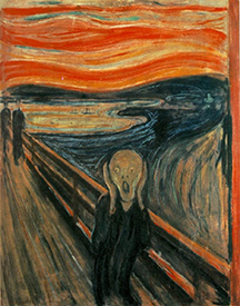 The Scream, by Edvard Munch