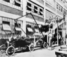 An early automotive assembly line trial