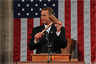 Rep. John Boehner displays the Speaker's gavel