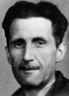 George Orwell's 1933 press card photo issued by the Branch of the National Union of Journalists