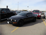 A Mustang GT illegally occupying two parking spaces at Vaughan Mills Mall, Ontario