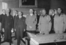 Signers of the 1938 Munich Agreement