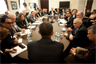 President Obama meets with leaders about job creation, December 3, 2009