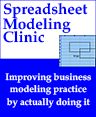 Spreadsheet Clinic