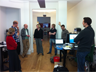 A typical standup meeting