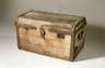 A wooden chest