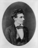 Abraham Lincoln as a young man about to become a candidate for U.S. Senate