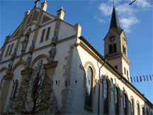 A Protestant church in Tuttlingen, Germany