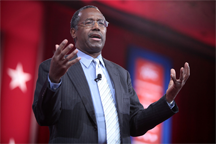 Dr. Ben Carson speaking at CPAC 2015 in Washington, D.C., on 26 February 2015