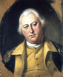 Portrait of Benjamin Lincoln (1733-1810), Major General of the Continental Army during the American Revo|-|lu|-|tionary War
