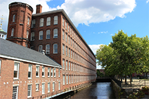 The Boott Cotton Mills and Eastern Canal