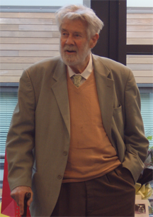 British mathematician Christopher Zeeman in 2009