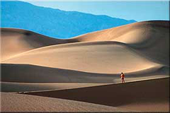 Dunes in Death Valley, California