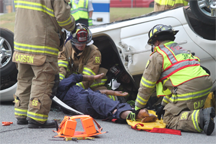 Emergency extrication training