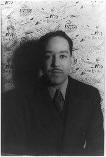 Langston Hughes, poet and leader of the Harlem Renaissance