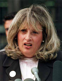 Linda Tripp, a central figure in the impeachment of President Clinton