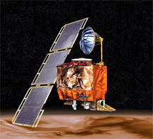 The Mars Climate Orbiter, which was lost in 1999