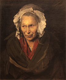 "Portrait of a woman titled ""Monomania of Envy"""