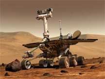 The robotic explorer Opportunity