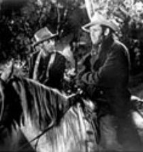 "Harry Morgan and Henry Fonda in ""The Ox-Bow Incident"""