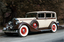 A 1934 Packard Eight Limousine