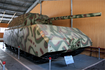 The Panzerkampfwagen VIII Maus, a German World War II super-heavy tank