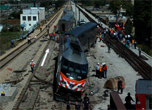 Derailment of Northeast Illinois Regional Commuter Train 504 on September 17, 2005