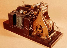 The Samuel Morse Telegraph Receiver