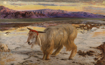 The Scapegoat by William Holman Hunt (1827-1910)