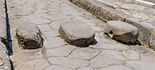 Steppingstones in Pompeii