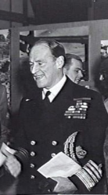 Admiral Edward Ratcliffe Garth Russell Evans, first Baron Mountevans of Chelsea