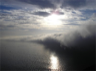 Fog offshore near Cabrillo National Monument, California