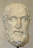 Head of the philosopher Carneades (215-129 BCE)